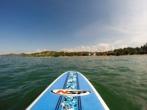 Paddle Boarding in Sayulita