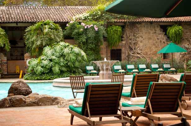 Pool at the Casa Santo Domingo Hotel