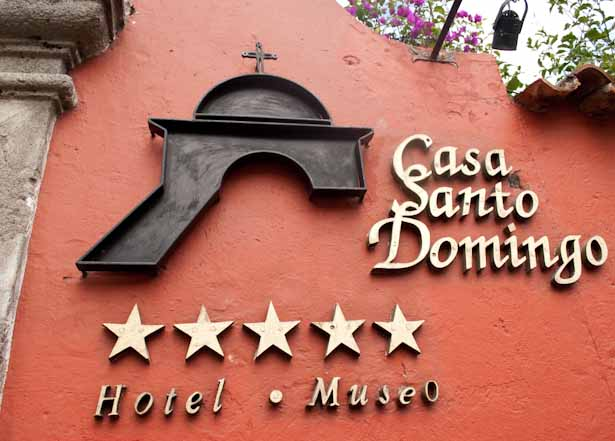 Casa Santo Domingo where to stay in Antigua Guatemala