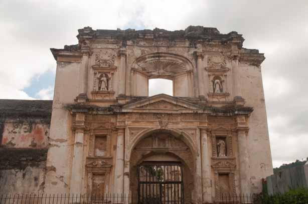 The ruins of the original Catedral de San Jose