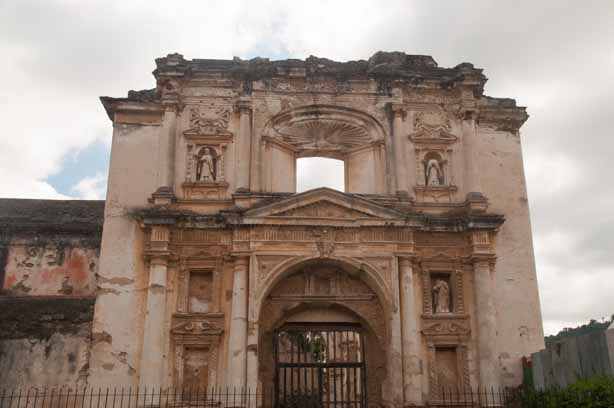 The ruins of the original Catedral de San Jose