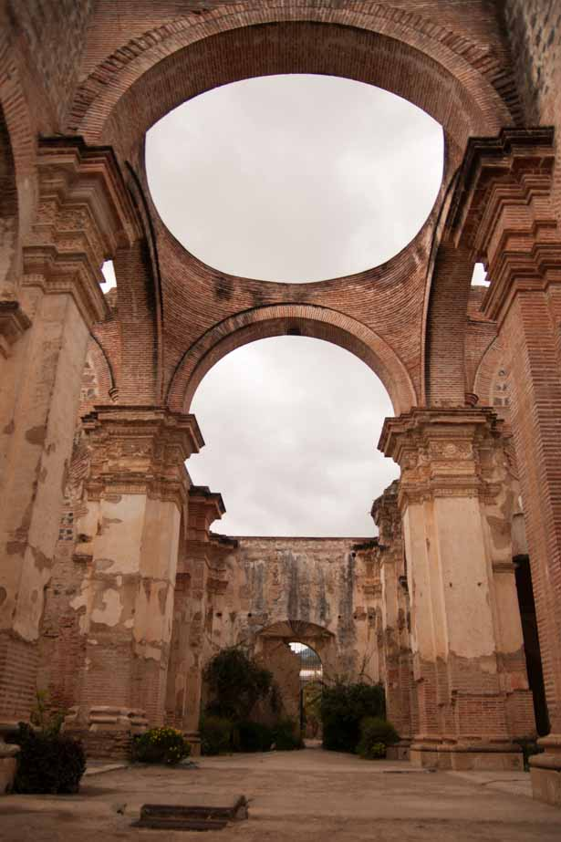 Ruins of the original Catedral de San Jose