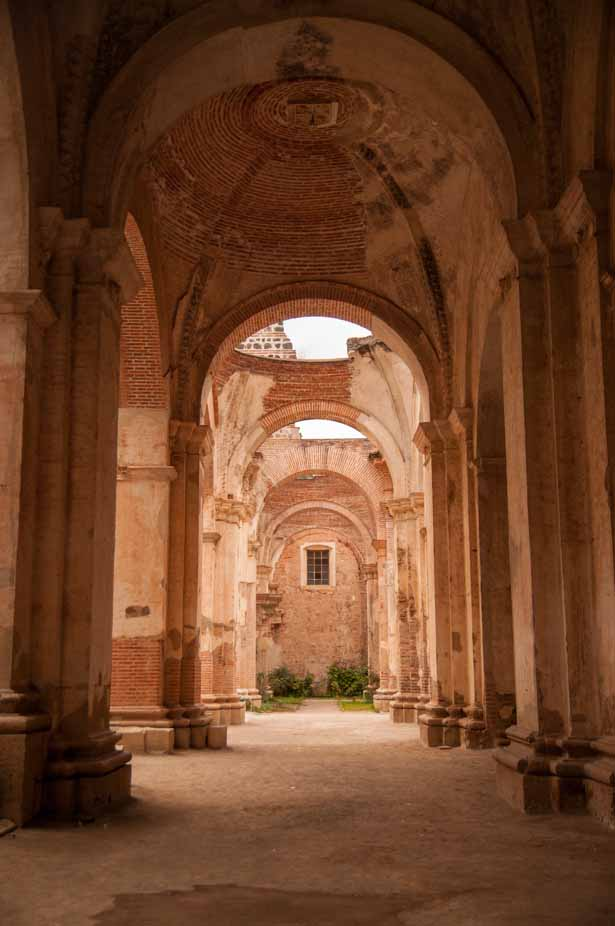 Ruins of Catedral de San Jose, Antigua, Guatemala