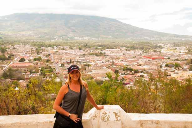 On top of Cerro de la Cruz