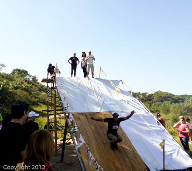 Final obstacle