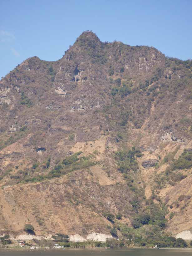 "This mountain is said to look like the face of a Maya Indian. You can get a guide to take you on a hike up the ""the Nose"""