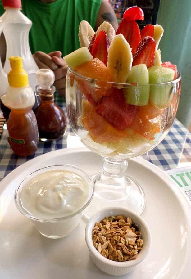Delicious $2 fruit salad