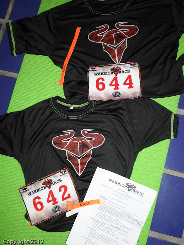 Our Official Warrior Race T-shirts