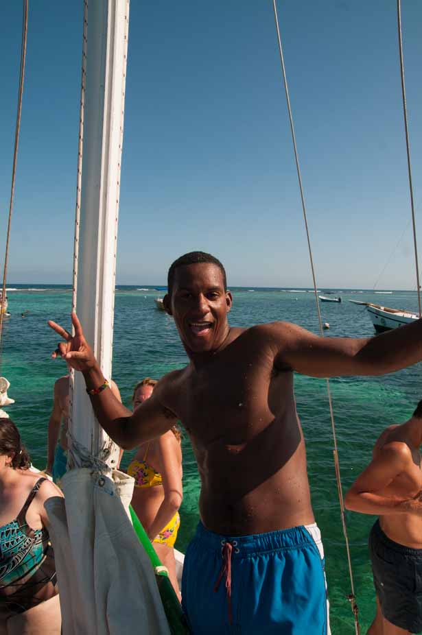 Our Raggamuffin snorkel tour guide