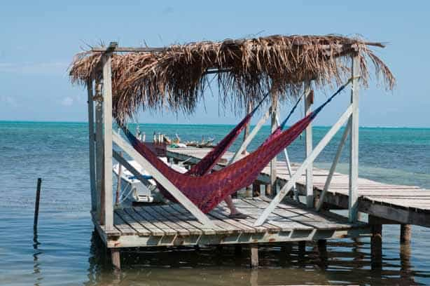 Plenty of hammocks around the island