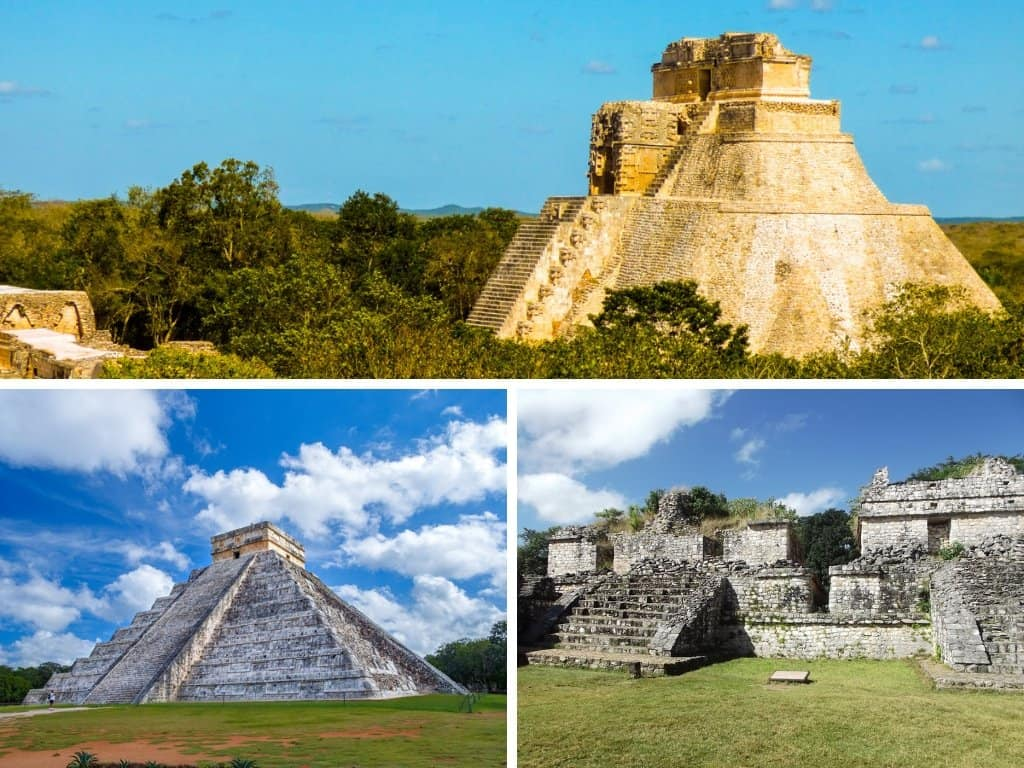 Things to see near Merida: Mayan ruins
