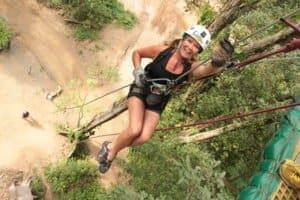 Sarah at Vallarta Adventures Ziplining