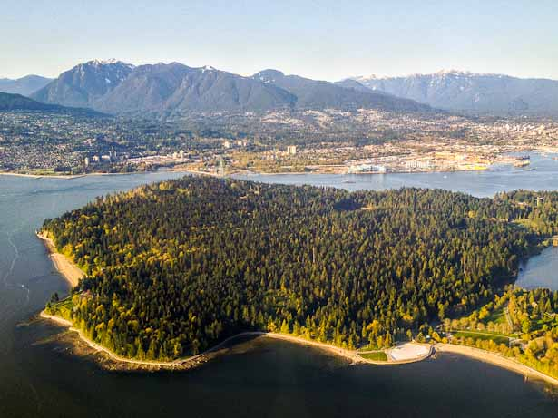 Stanley Park in Vancouver, Canada