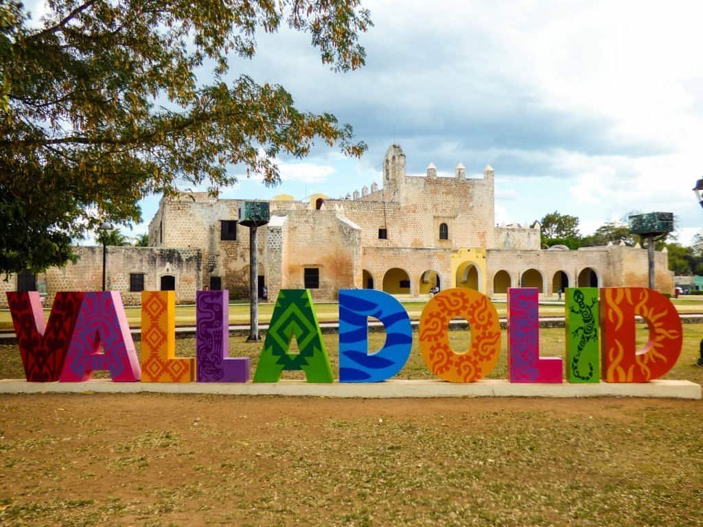 Valladolid Yucatan sign