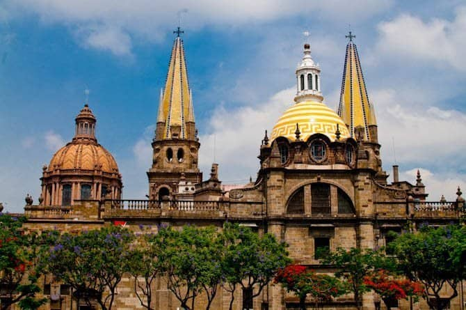 Things to do in Guadalajara Mexico: Guadalajara Cathedral