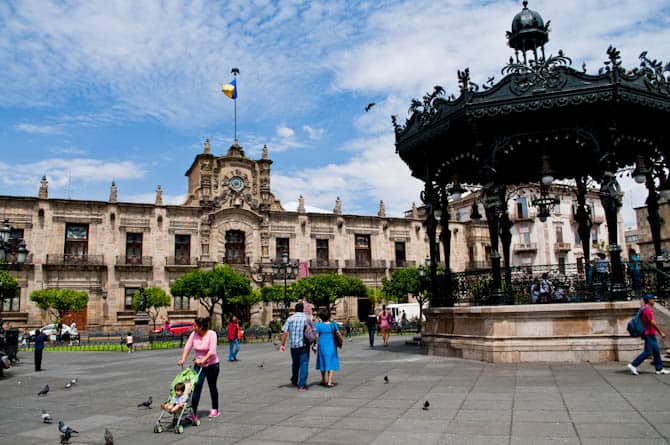 Things to do in Guadalajara Mexico: Plaza de Arama