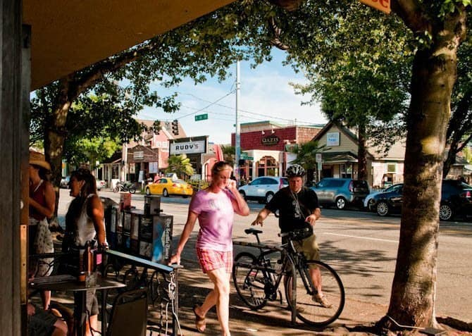 Cycling in Fremont