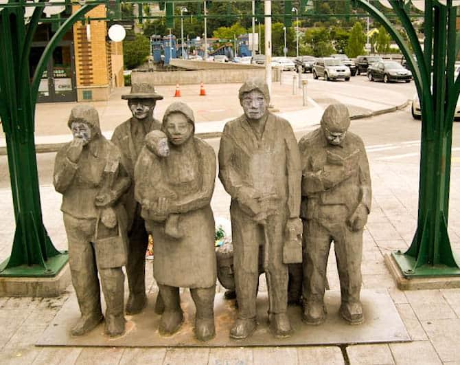 Fremont statue