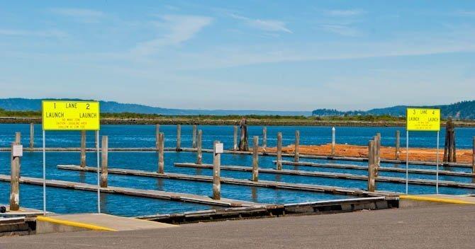 Everett Marina boat launch to Jetty Island