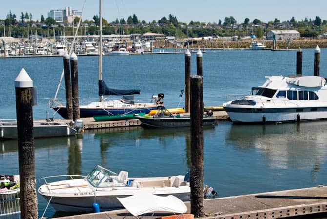 Docks at Jetty Island