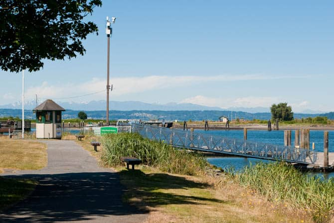 Image of Jetty Island ferry dock