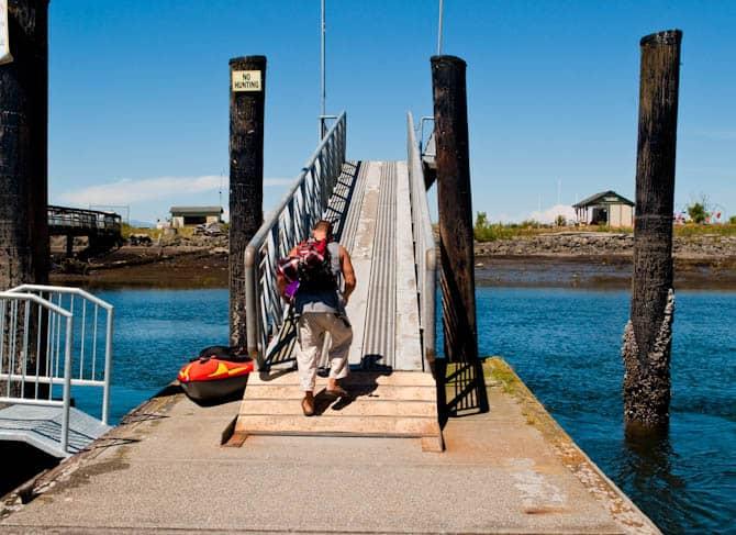 image of ramp to Jetty island