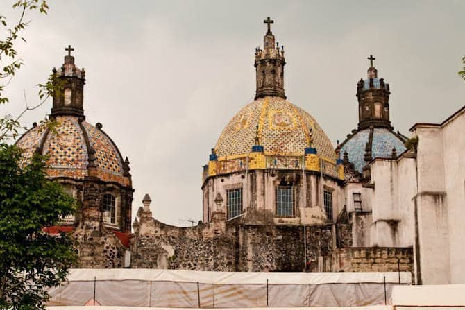 cathedrals in San Angel