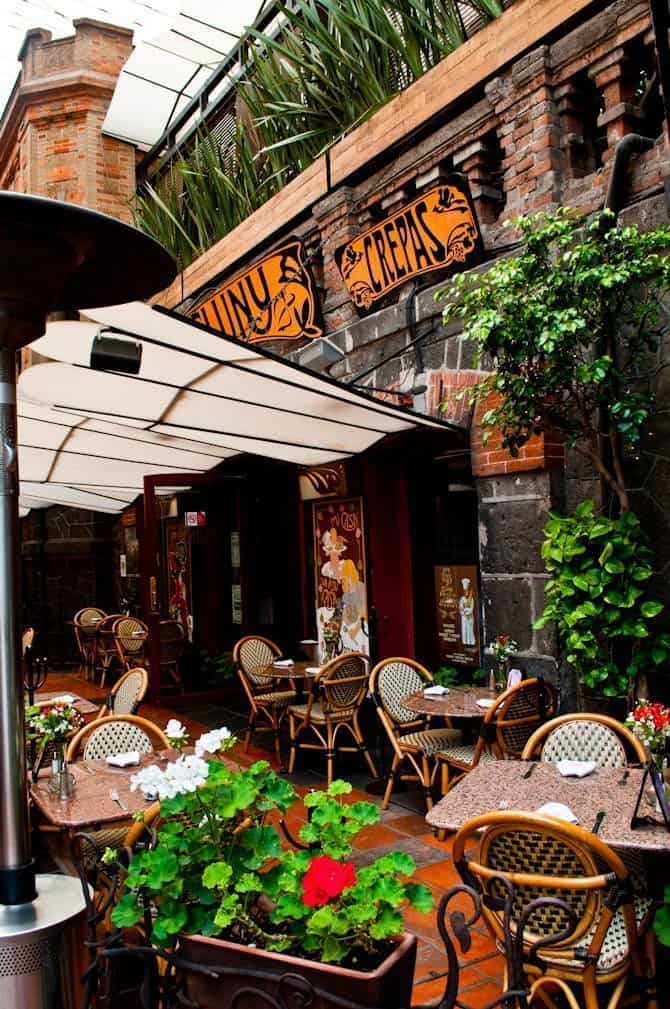 Cafe in San Angel: Guide to Mexico City