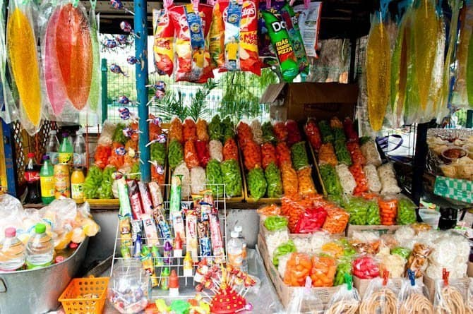 Chapultepec Park candy stand: Guide to Mexico City