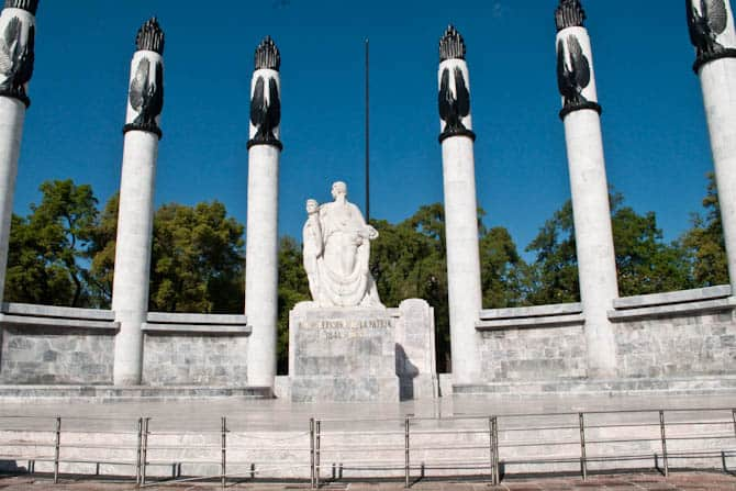 Ninos Heroes Monument, Chapultepec Park: Guide to Mexico City
