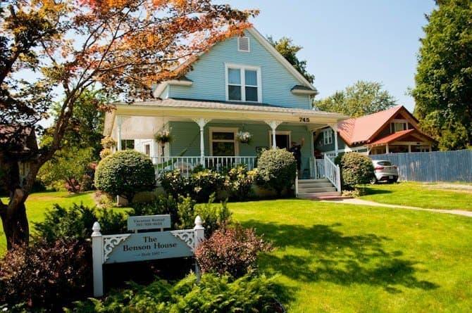 Bneson House Coeur d' Alene