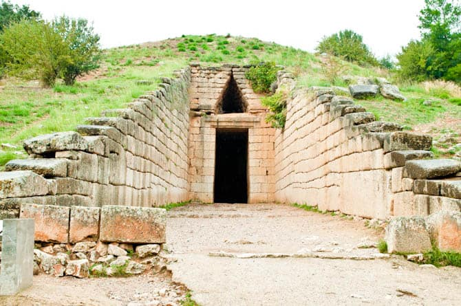 Tomb of Agamemnon Mycenae