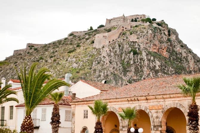 Palamidi castle Greece