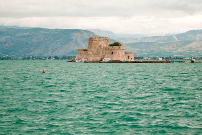 Bourtzi Fortress Nafplio