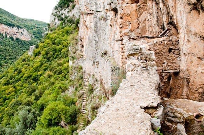 Monastery in Arcadia Peloponnese