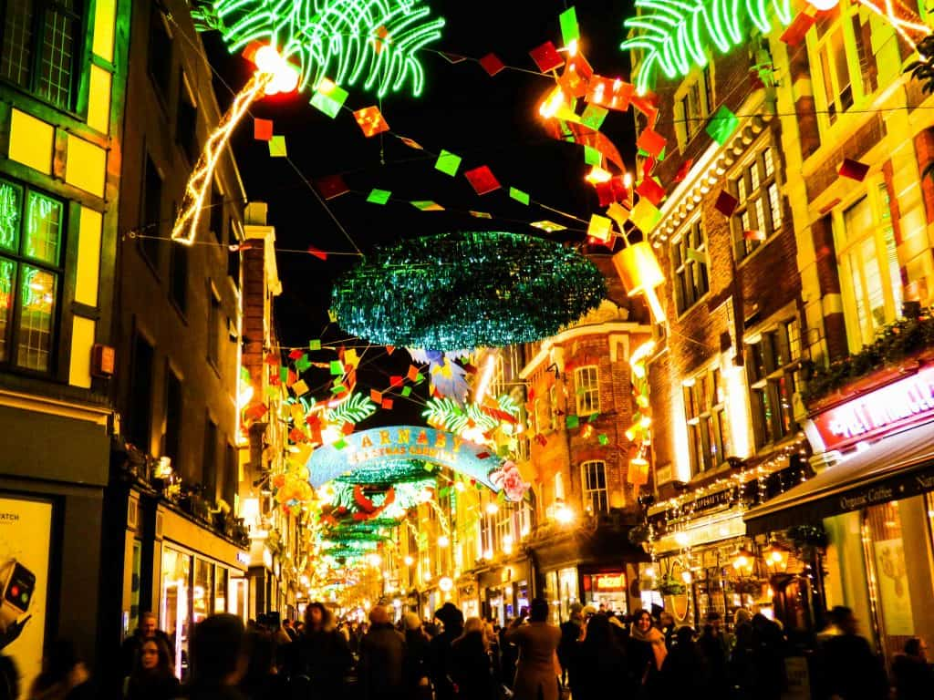 Carnaby St Christmas in London