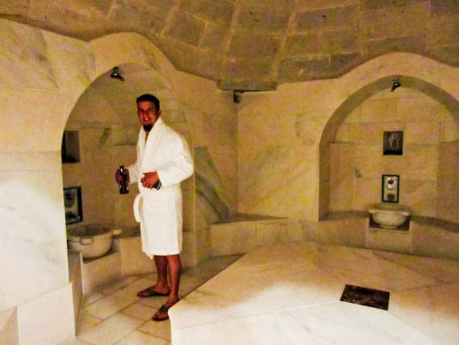 Turkish Baths in Cappadocia