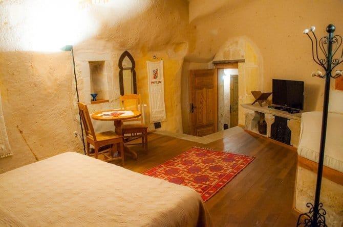 Kale Konak Cave Hotel room in Cappadocia