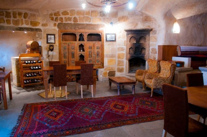 Kale Konak cave hotel Cappadocia