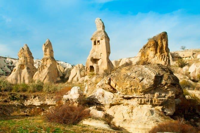 Cappadocia's starnge landscape