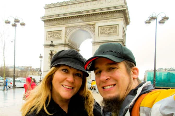 Arc de Triomphe Paris in 48 hours
