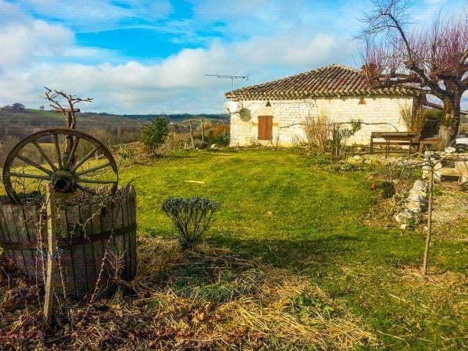 House sitting Stone farmhouse we cared for in Southern France