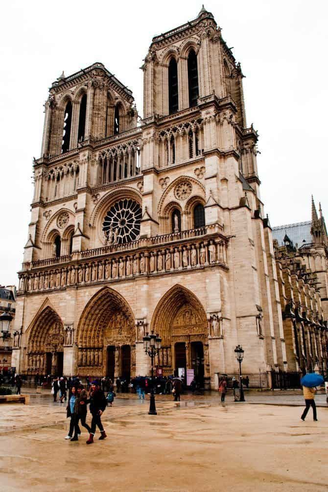 Notre Dame Paris in 48 hours