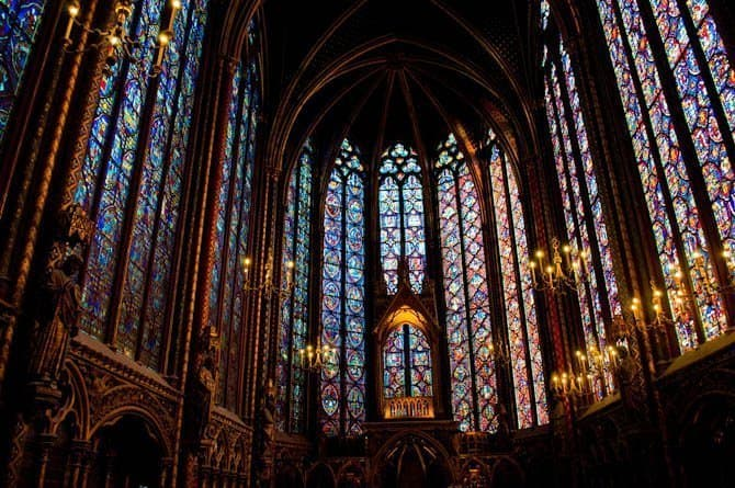 Sainte Chapelle Paris in 48 hours