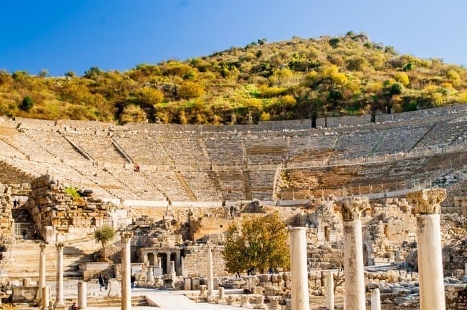 Ancient Ephesus theatre