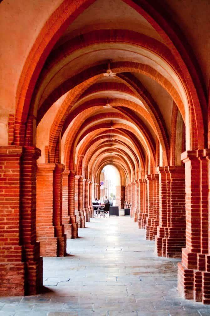 Montauban arcades