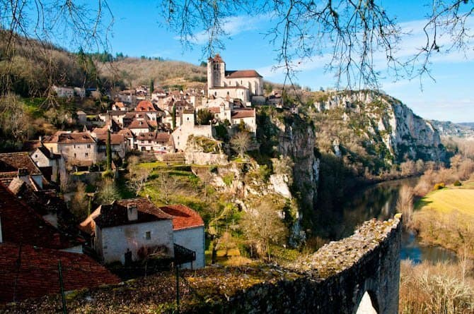 Saint Cirq Lapopie France