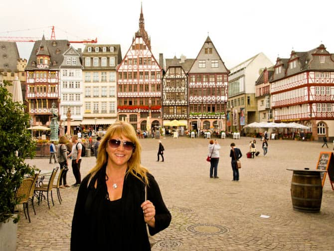 Old town square, Frankfurt Germany