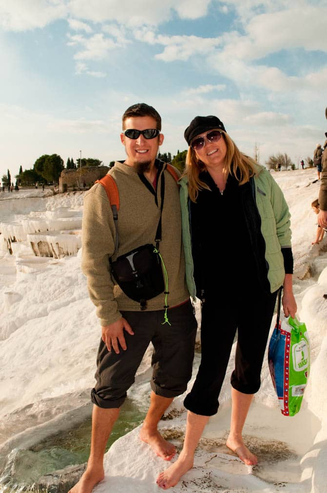 Pamukkale Turkey in off season
