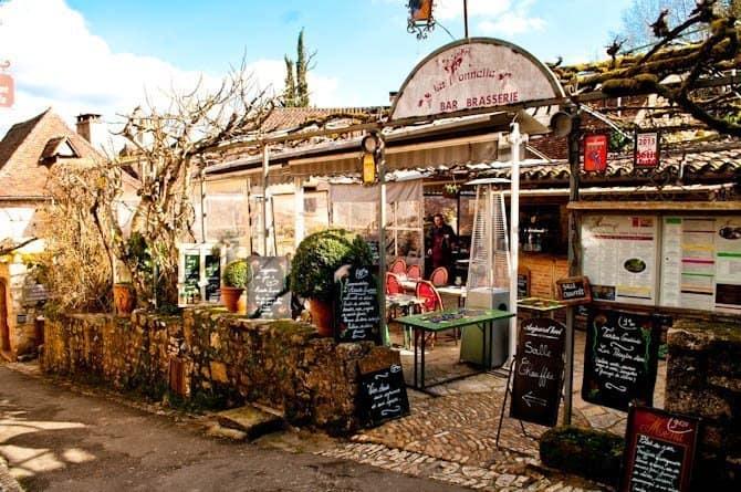 Saint Cirq Lapopie restaurant